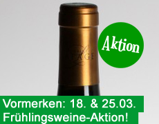 Vormerken: Frühlingsweine-Aktion am 18. und 25. März