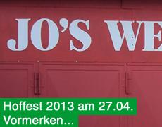 Hoffest am 27.04.!