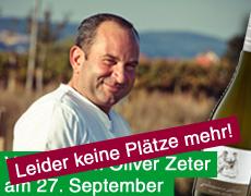 Oliver Zeter im Depot