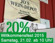 Willkommensfest am 21.02.2014