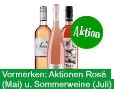 In Kürze: Rosé- und Sommerweine