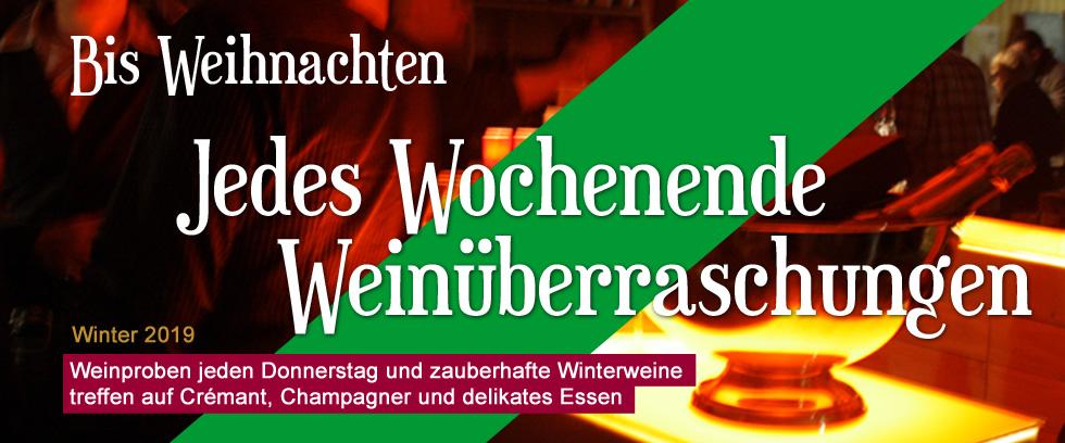 Aktionen im Winter 2019 bei Jo´s Weindepot