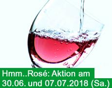 Rosé-Aktionen im Juni