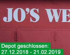Depot geschlossen