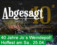 Absage: Hoffest 2020