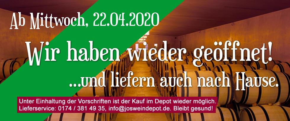 Aktuelle Öffnungszeiten März 2020